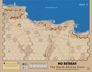 Map Of Africa Games.No Retreat The North African Front Deluxe Edition Juego